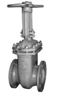 Задвижка клиновая стальная с выдвижным шпинделем 30с41п1 (30с41нж)