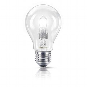 Лампа галогенная PHILIPS EcoClassic 53W 230V A55 1CT-10 E27 (CL)