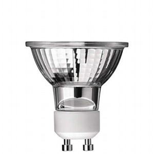 Лампа галогенная PHILIPS Twist Alu 50W 230V 40D 1CT-10X5F GU10