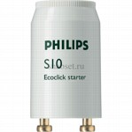 Стартер PHILIPS S10 4-65W SIN 220-240V WH EUR-12X25CT